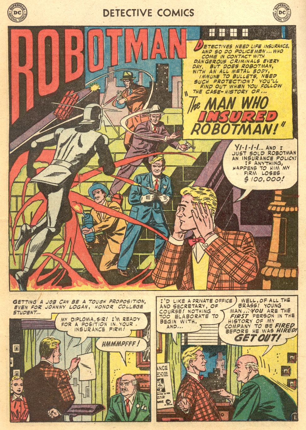Read online Detective Comics (1937) comic -  Issue #187 - 27