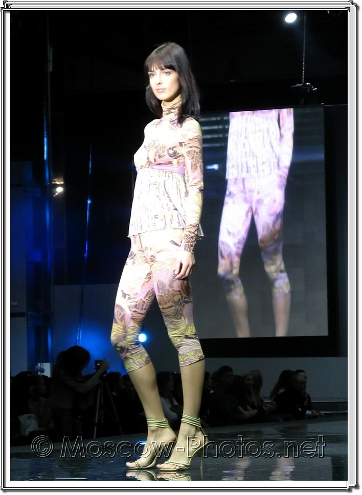 Beautiful Olga Alekseeva at Moscow Fashion Expo - 2007