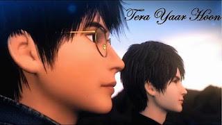 Tera Yaar Hoon Main Animated Song Video Download