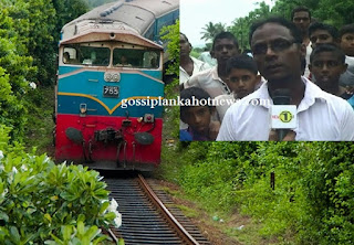 Thambuttegama resident's heroic act halts major train tragedy