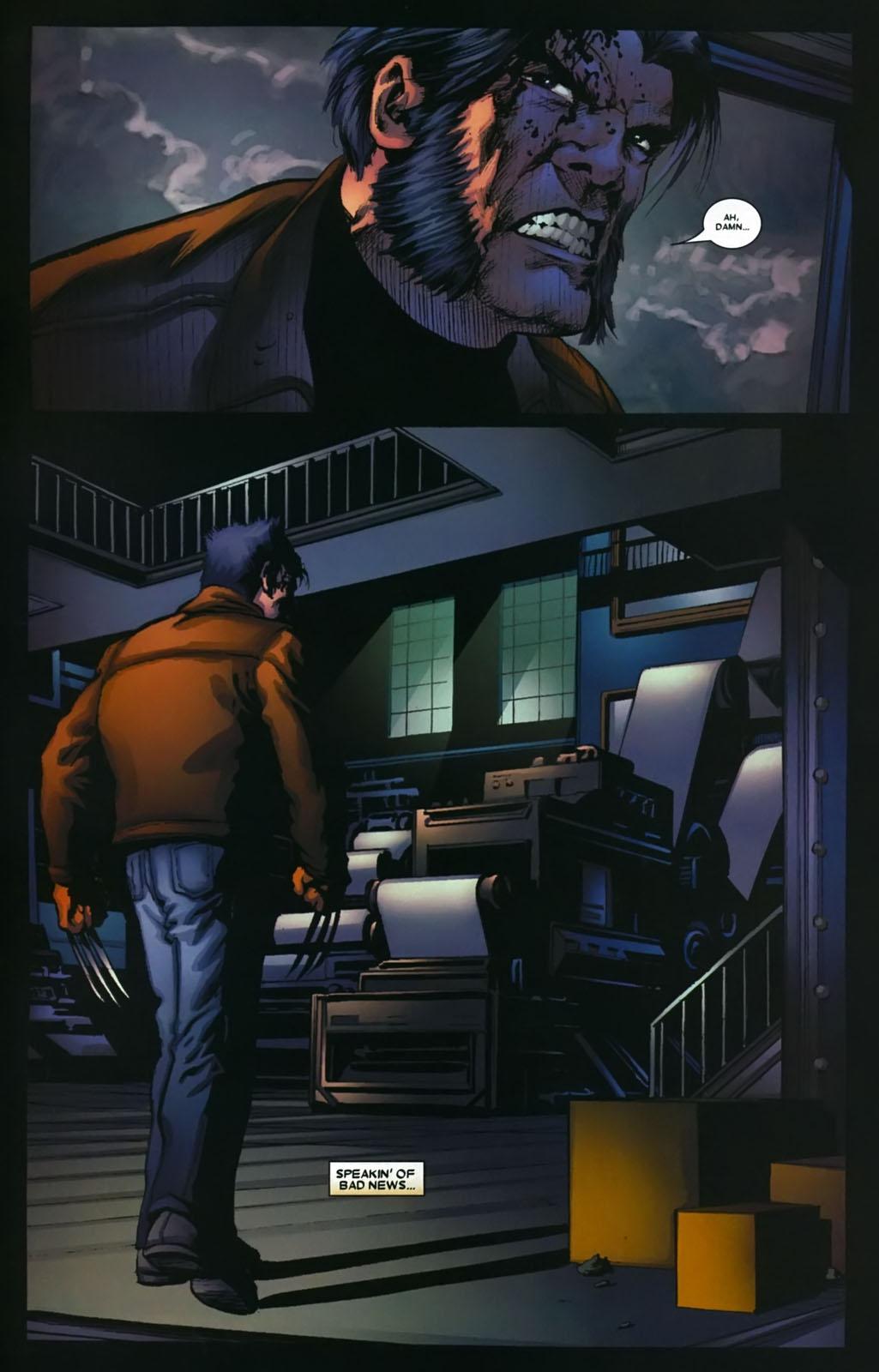 Read online Wolverine (2003) comic -  Issue #39 - 10