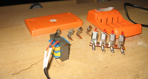 Cara membuat Charger baterai ABC AA 1.5 Volt : 4 PCS sederhana
