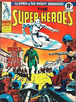 Marvel UK, Super-Heroes #22, the Silver Surfer