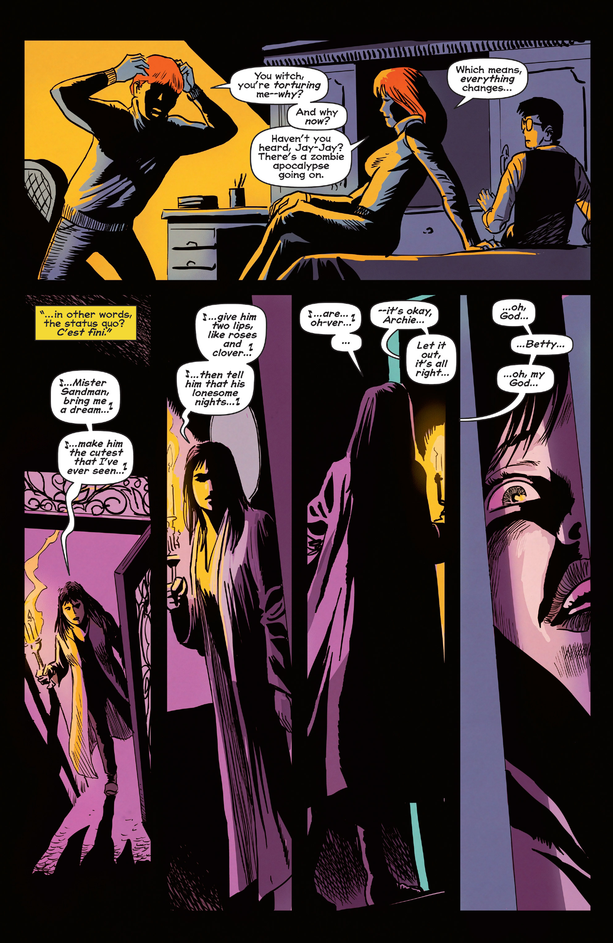 Read online Afterlife with Archie comic -  Issue #5 - 12