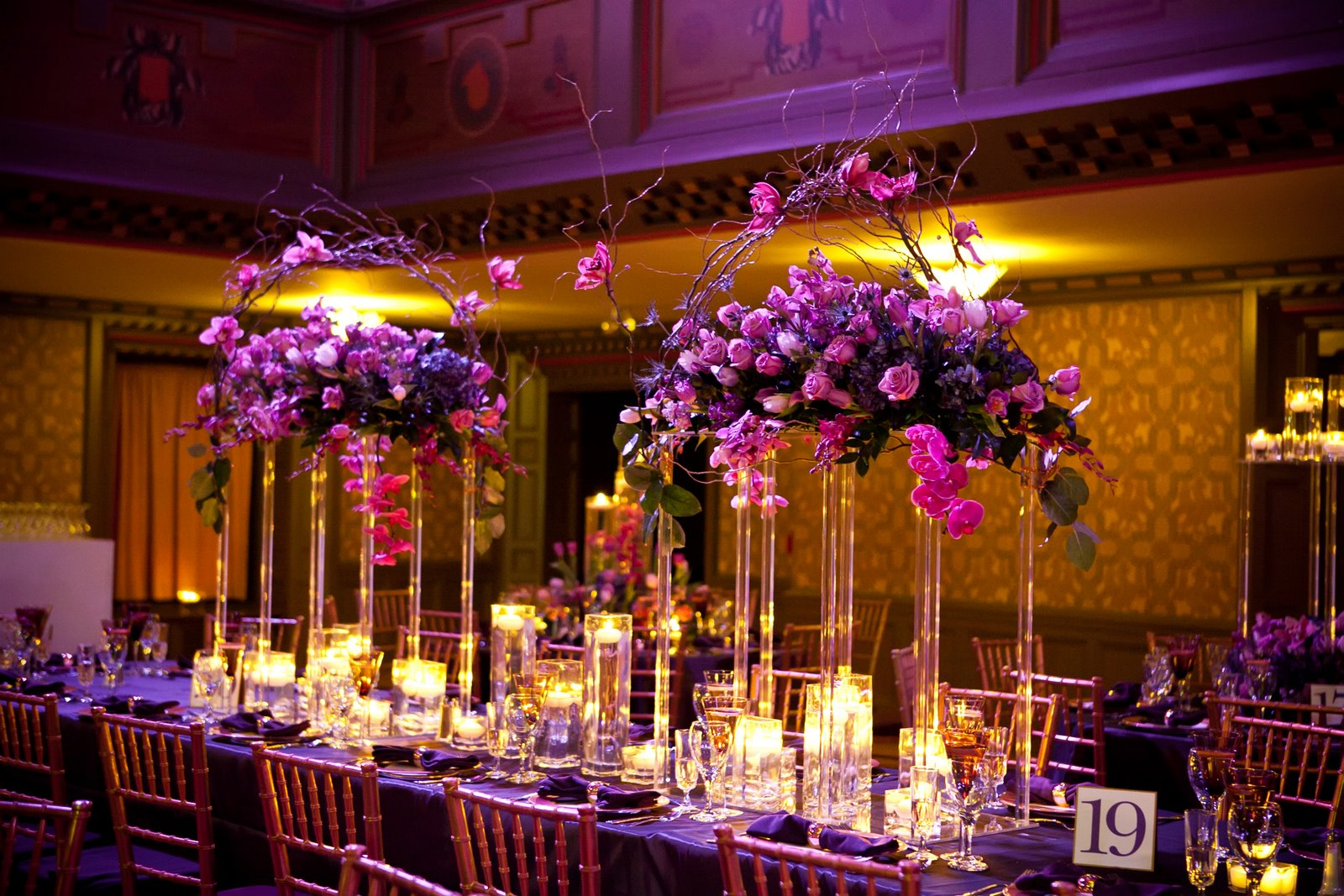 Lindsay Landman Events: Cindy And Brent: A Warm Winter Wedding