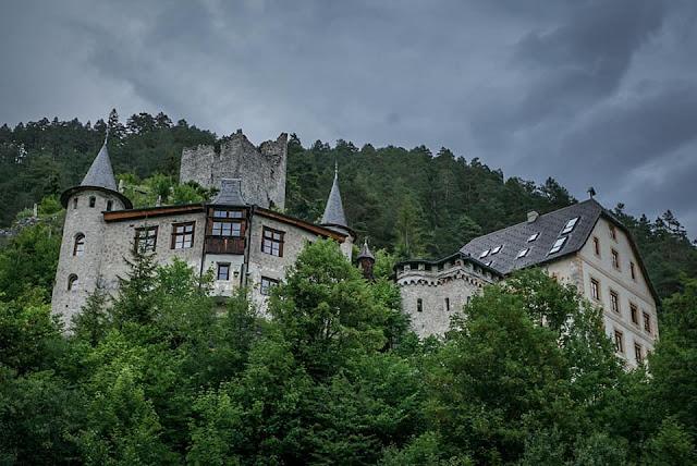 Hogwarts MTB - Mountainbike Tour Grünsteinscharte