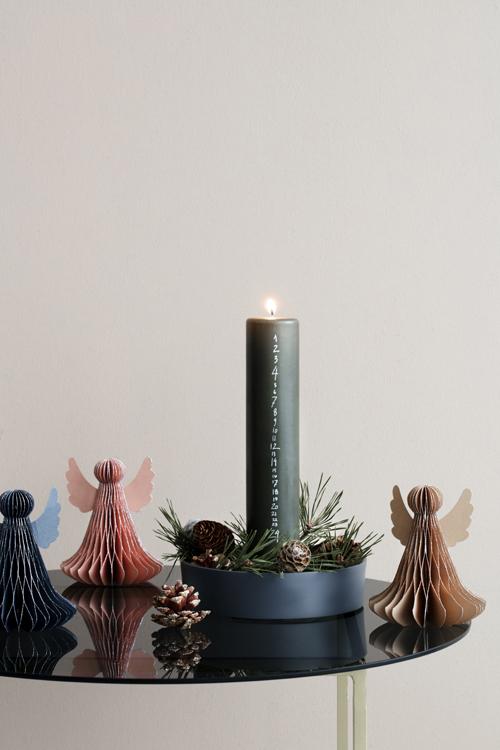 Świeczka świąteczna, stroik