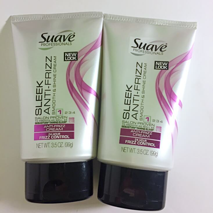 Suave Sleek Anti-frizz Cream