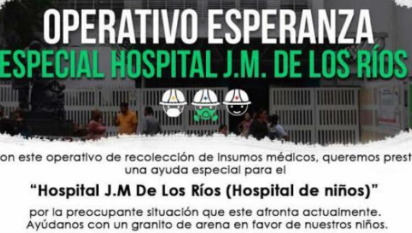 Operativo Esperanza incluirá en segunda jornada al Hospital JM de Los Ríos
