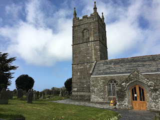 St Endellion Church in Port Isaac Cornwall