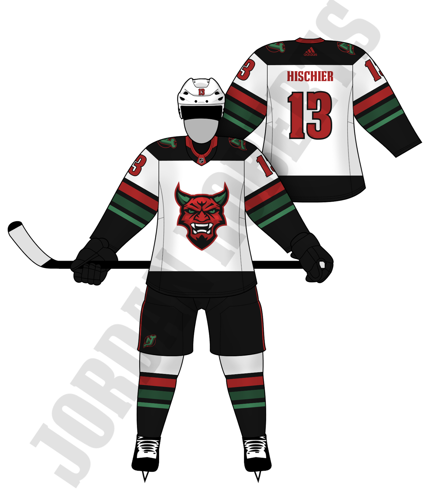 the latest 68b91 81c0a New Jersey Devils Remix - Concepts - Chris Creamer's Sports ...