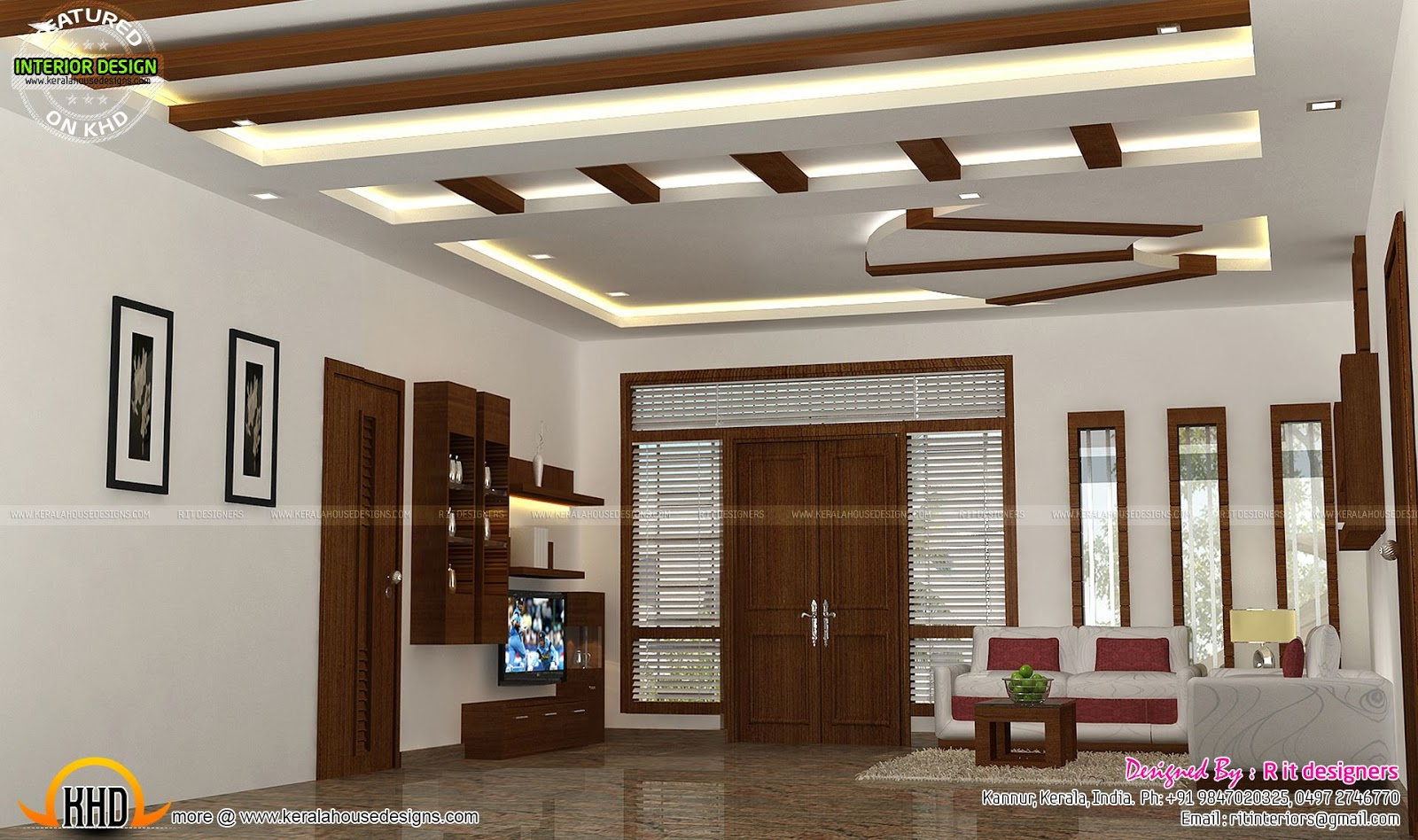 Design Home Ideas Interior Decors By R It Designers Kerala Home Design And