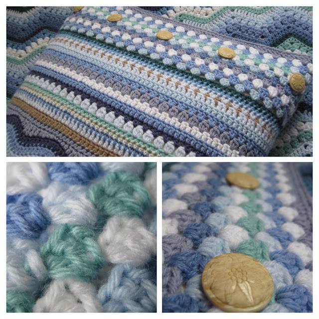 Tina's Allsorts Ripple Cushion Cover