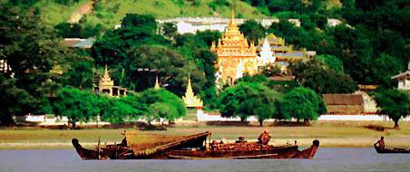 Irrawaddy River in Mandalay