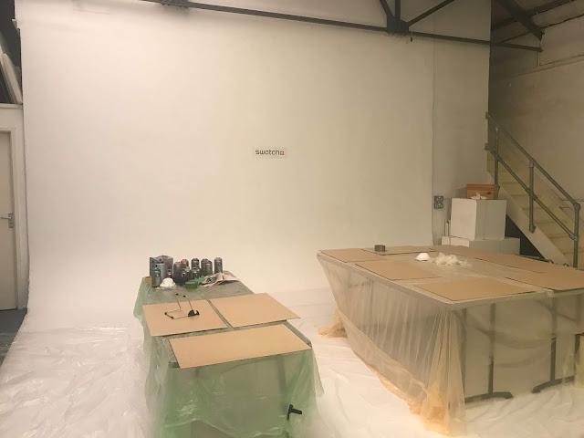 Swatch Event Studio White Background