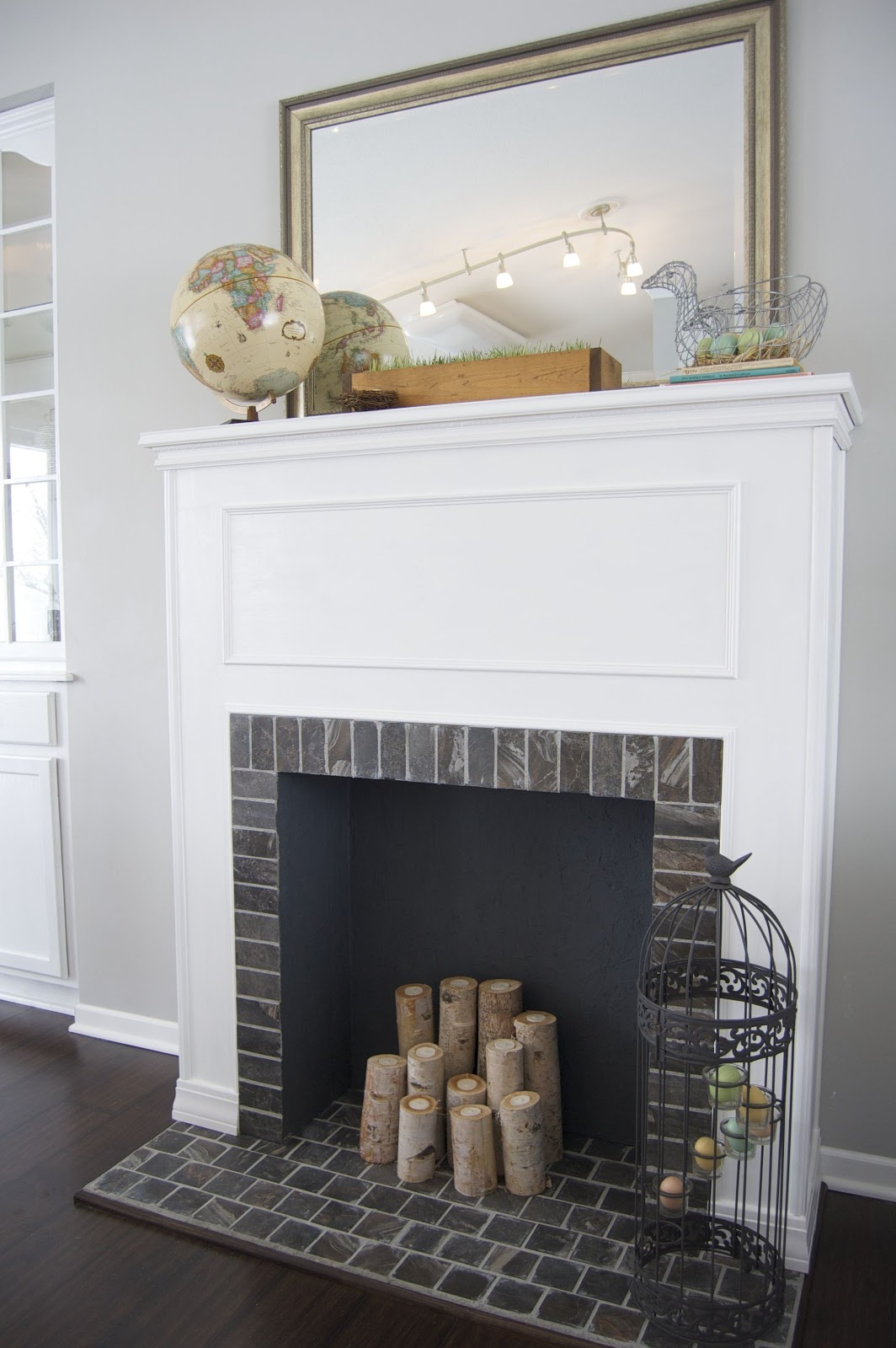 How To Build a Faux Fireplace | matsutake