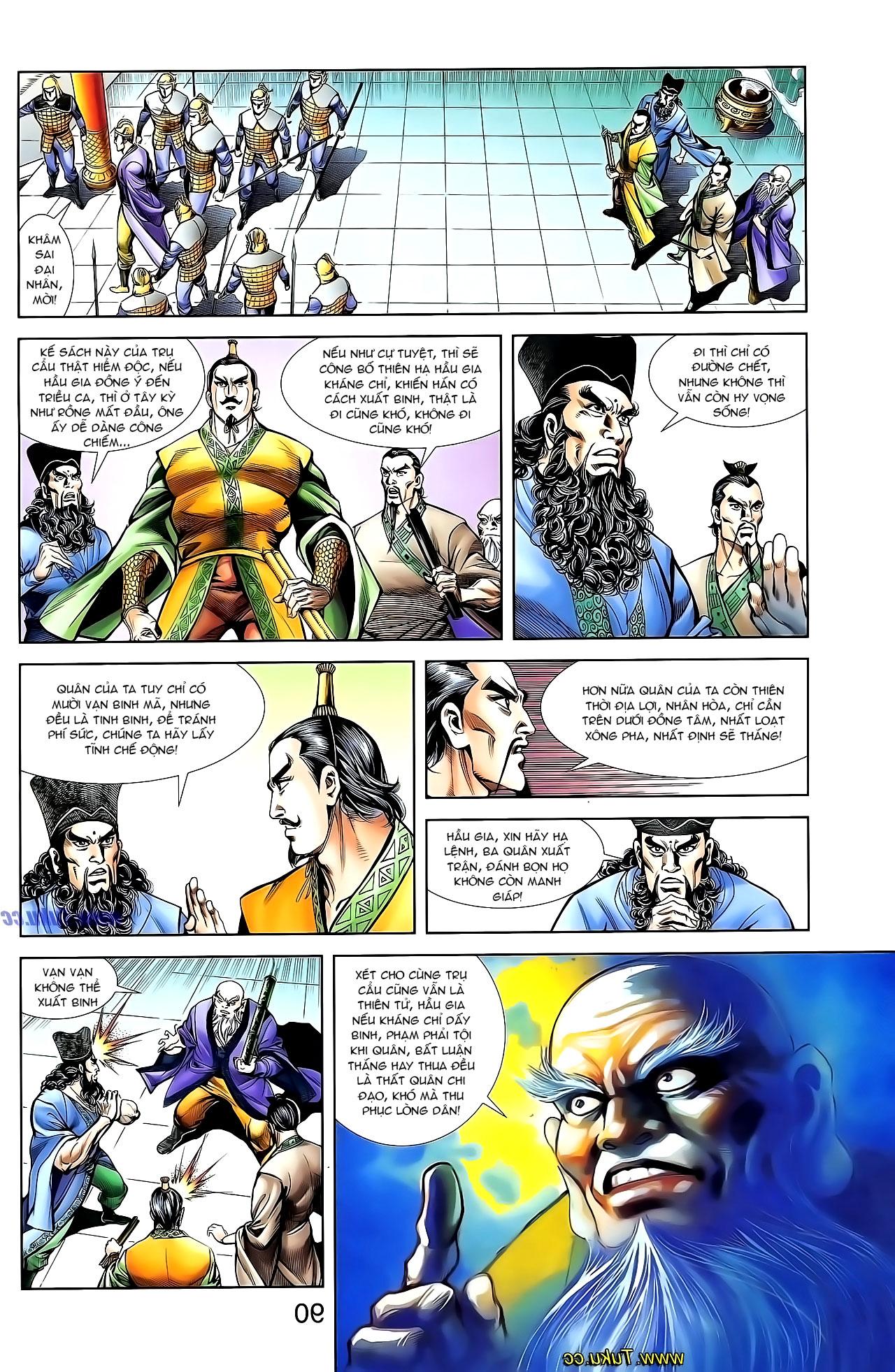 Cơ Phát Khai Chu Bản chapter 131 trang 30