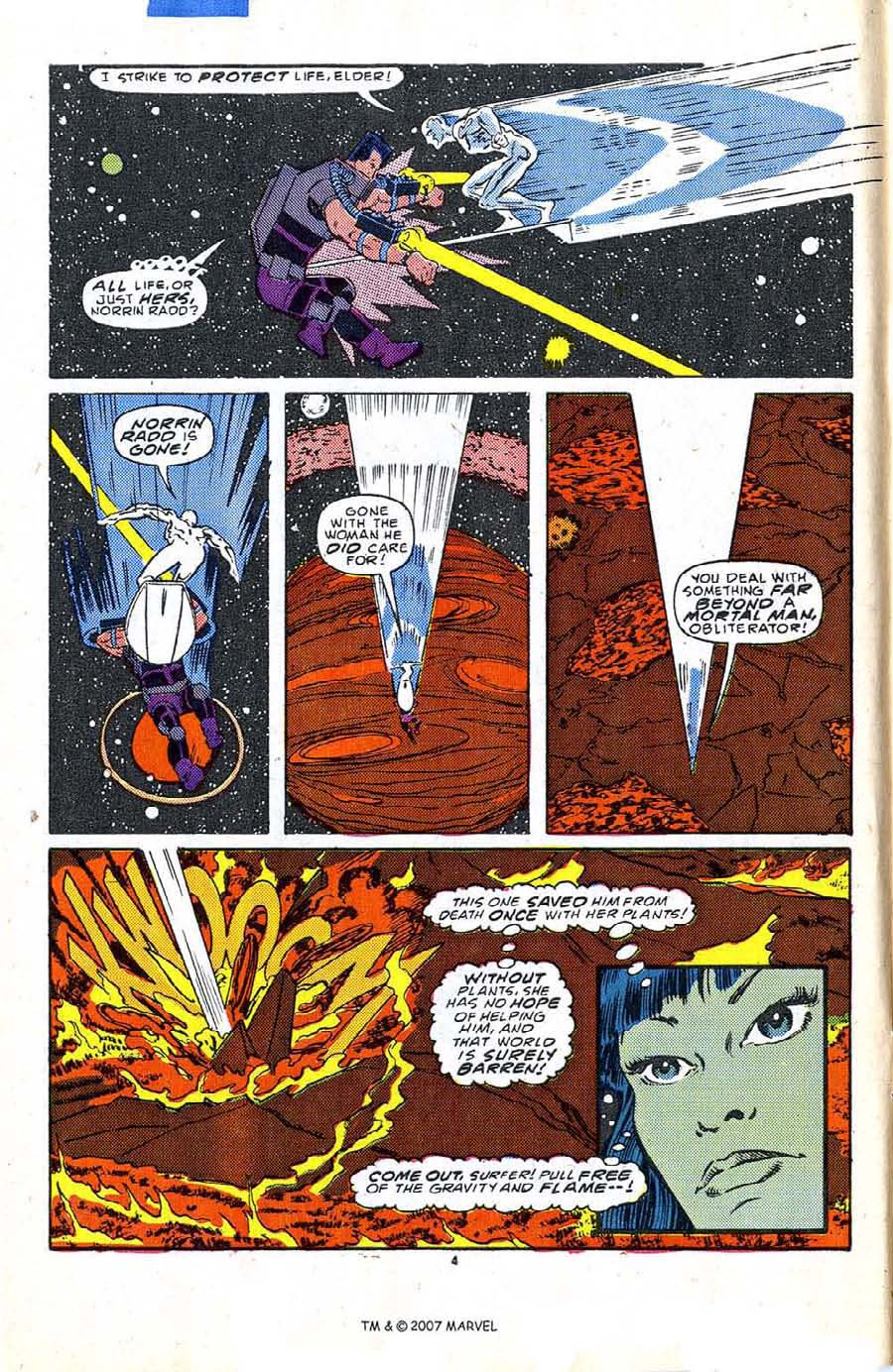 Read online Silver Surfer (1987) comic -  Issue #5 - 6