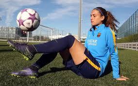 Alexia Putellas berlatih bersama timnya FC Barcelona Women