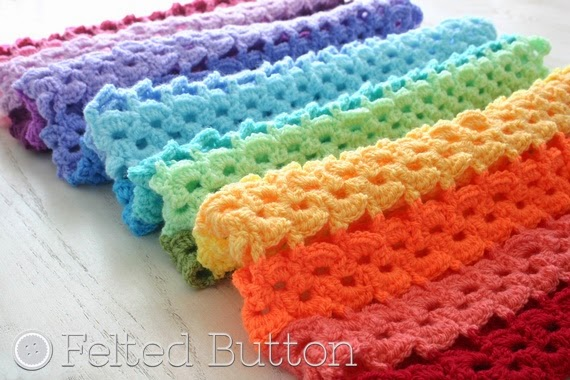 Pansy Parade Blanket Crochet Pattern by Felted Button