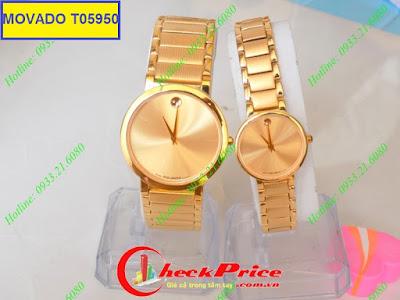 Đồng hồ đeo tay Movado T05950 sợi dây kết nối tình yêu của hai người