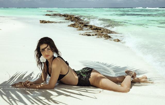 Agua de Coco Swim Campaign Resort 2017 featuring Isabeli Fontana
