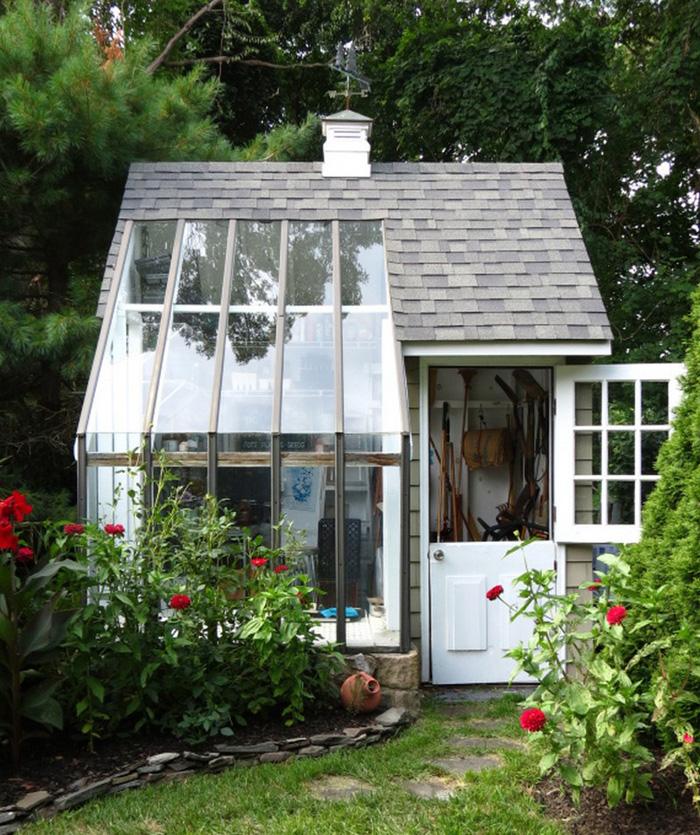 12 Backyard Sheds You Can DIY or Buy | Poppytalk