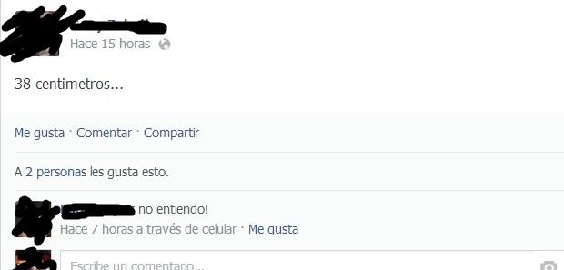 Conversación entre dos usuarios de Facebook