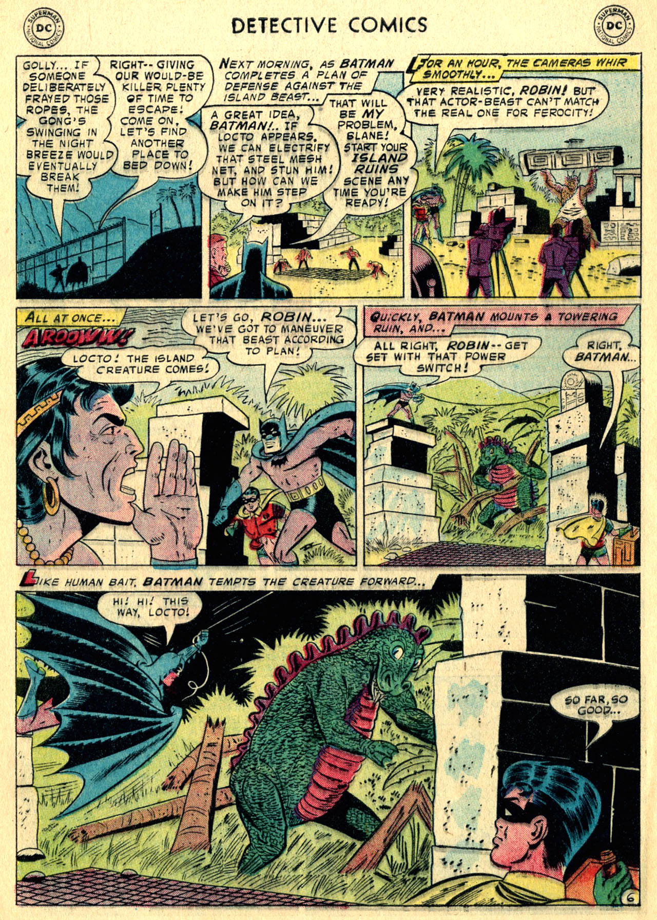 Read online Detective Comics (1937) comic -  Issue #252 - 8