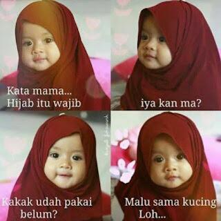 dp bbm tentang hijab syar'i