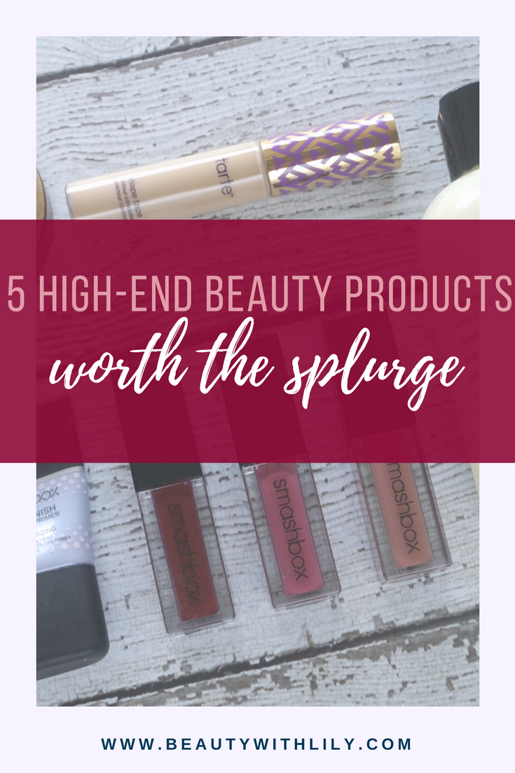 High-End Beauty Products Worth The Splurge // Best High-End Beauty Products | beautywithlily.com