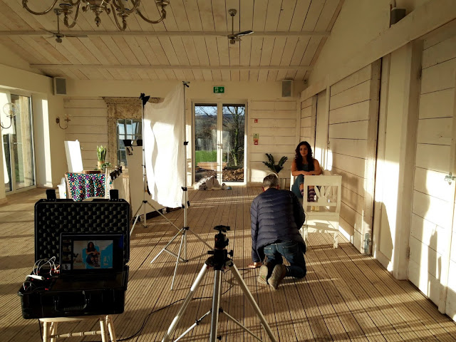 WYS Winwick Mum Collection yarn photo shoot, Bashall Barn
