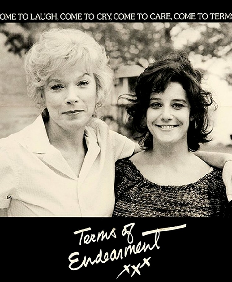 A Vintage Nerd, Movie Madness Monday, Classic Film Blog, Old Hollywood Blog, Terms of Endearment