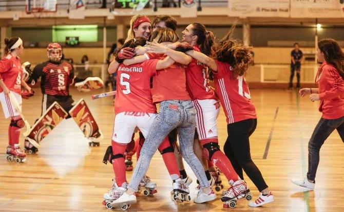 Blogue Benfica Campeão Nacional de Hóquei em Patins Feminino 2018/19