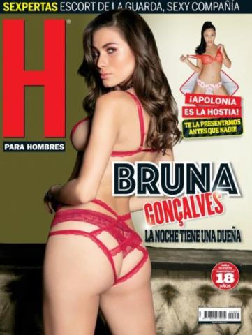 H para Hombres: Bruna Goncálvez