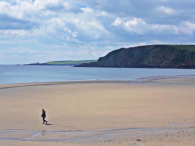 Pentewan Beach, Cornwall