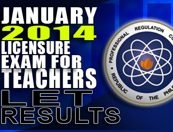 Board Exam: List of Passers January 2014 LET Secondary (A-G