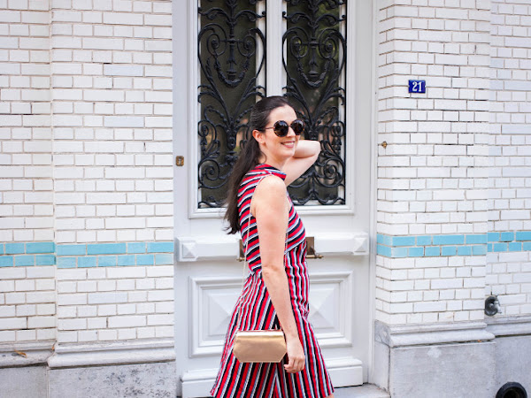 Outfit: sixties stripes in Closet London's La Dolce Vita