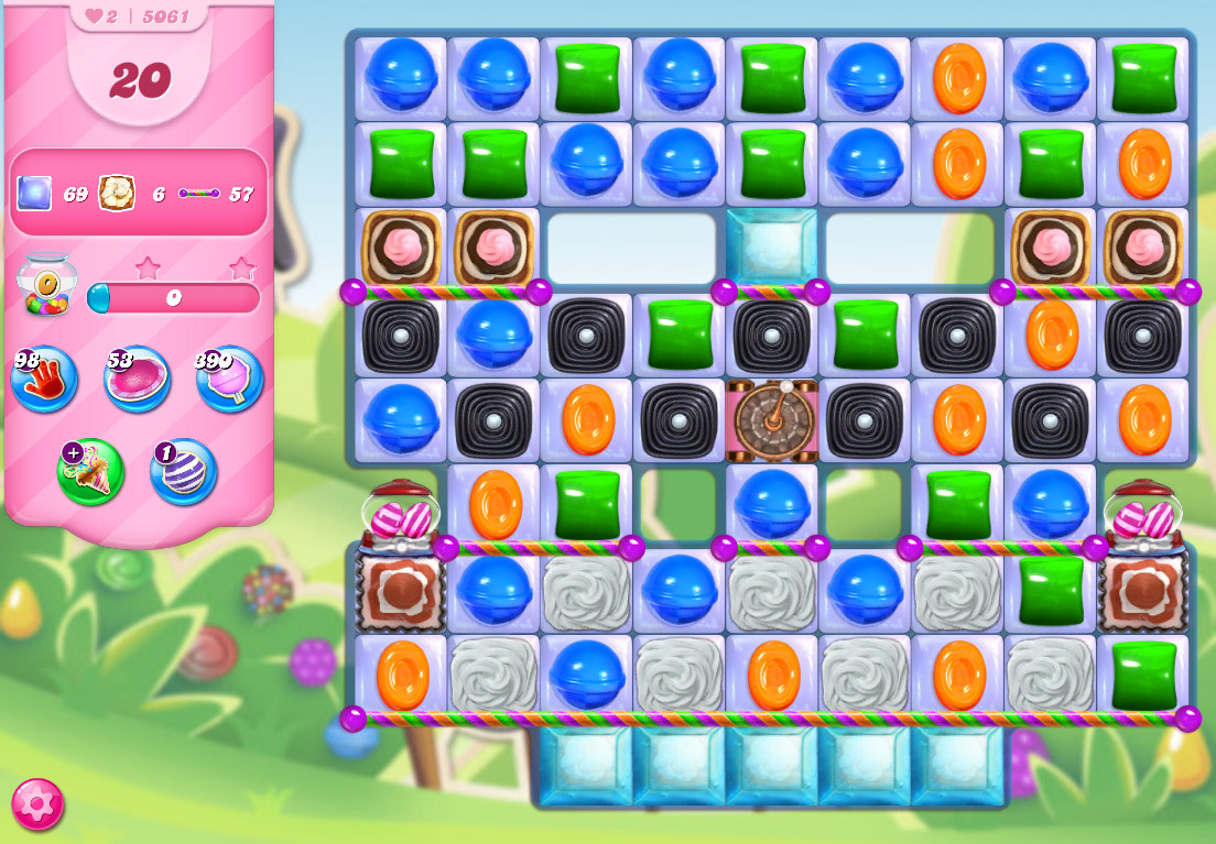 Candy Crush Saga level 5061
