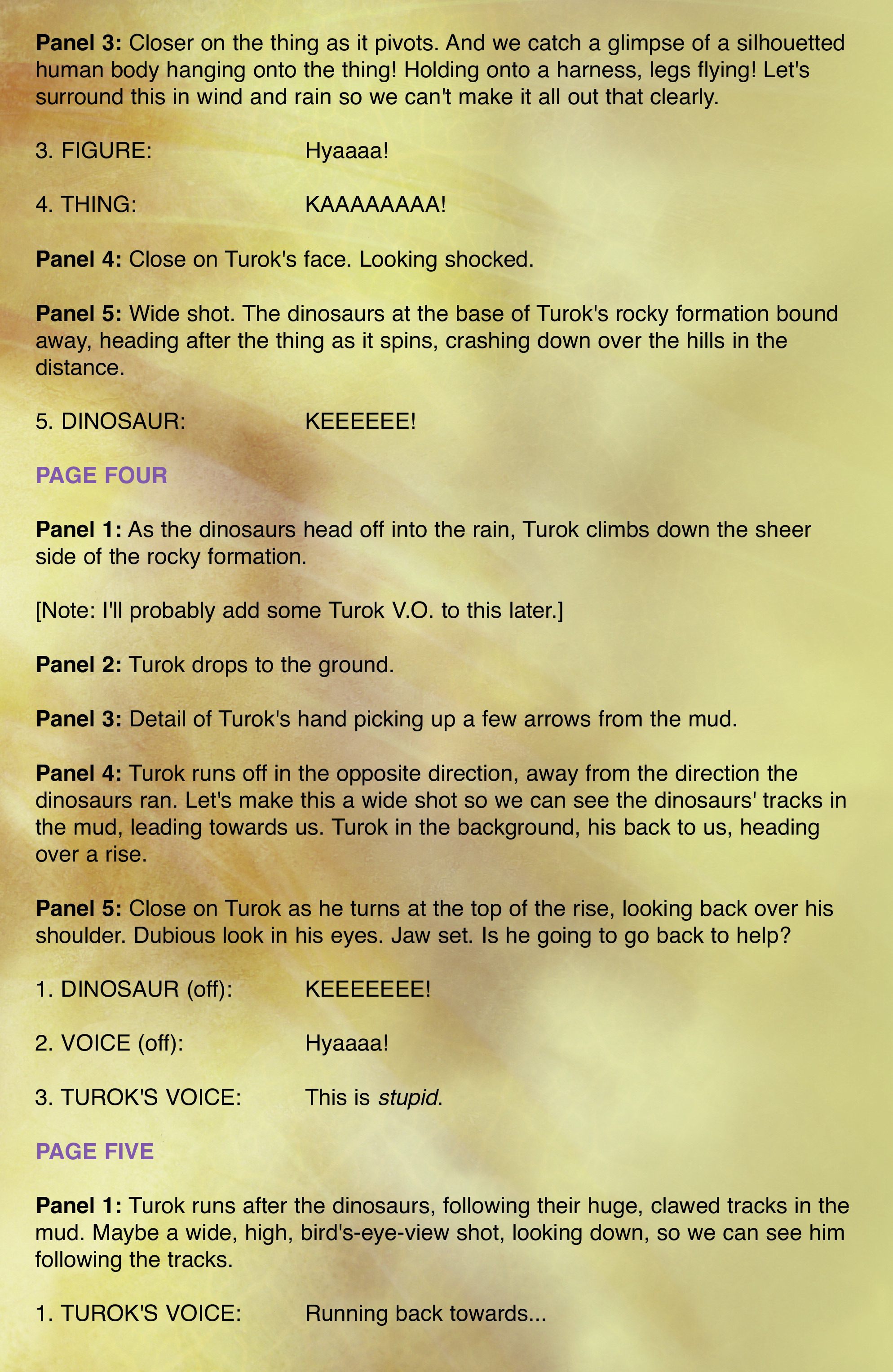 Read online Turok: Dinosaur Hunter (2014) comic -  Issue # _TPB 2 - 91