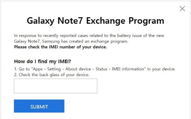 Phần mềm kiểm tra lỗi của Samsung Galaxy Note 7