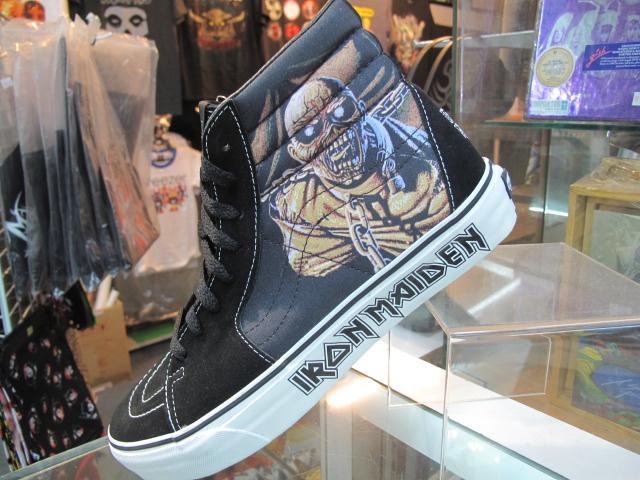 8b8819856f DISTRICT9 CLOTHING  VANS SK8 HI (Iron Maiden P.O.M)
