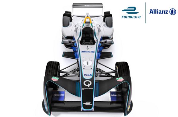 Allianz socio oficial Fórmula E