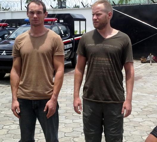 britons arrested nigeria