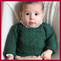 Jersey de ochos para bebé