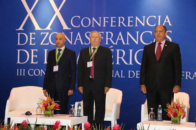 Chairman of World Free Zones Organization addresses Free Zones of the Americas (AZFA) Conference in San Jose, Costa Rica