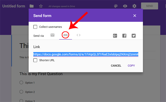 Embed Code for Google Forms