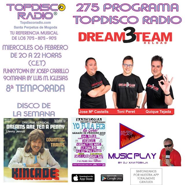 275 Programa Topdisco Radio