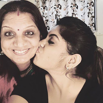 Meera Nandan's lovely mother