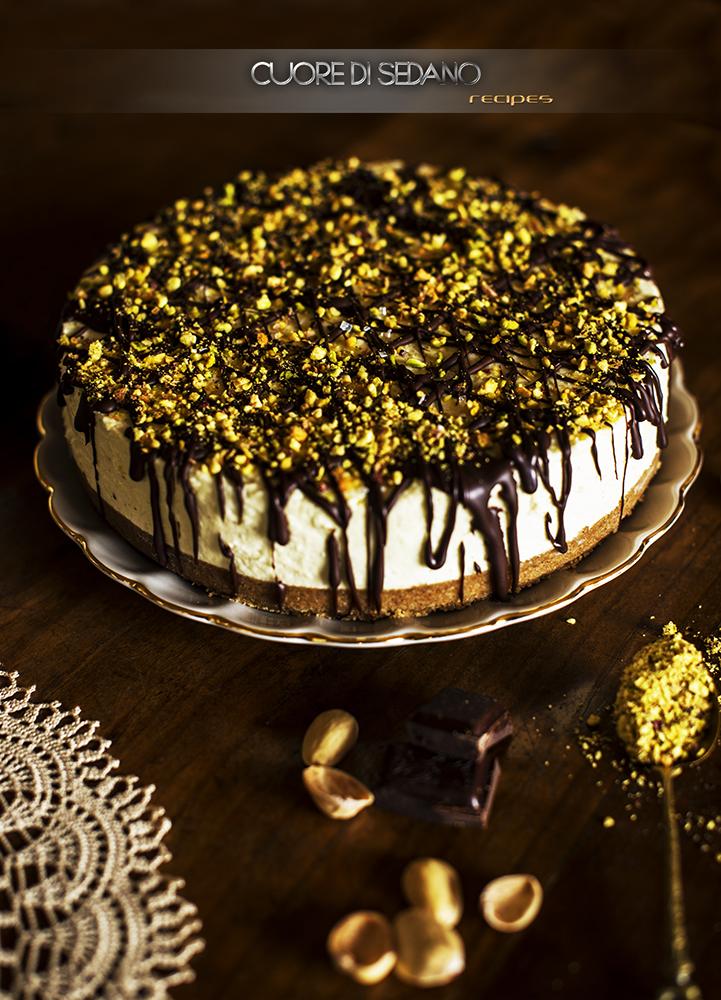 Cheesecake Al Pistacchio Cuore Di Sedano